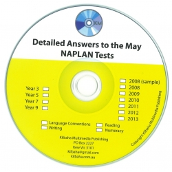 ALL detailed answers to the Year 7 May ACARA NAPLAN Tests - 2008, 2009, 2010